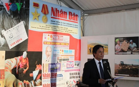 "Vietnam attends ""Humanitarian newspaper"" festival in Paris - ảnh 1"