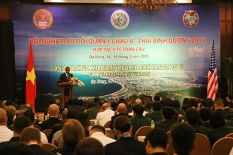 Asia Pacific Military Health Exchange closes in Da Nang - ảnh 1
