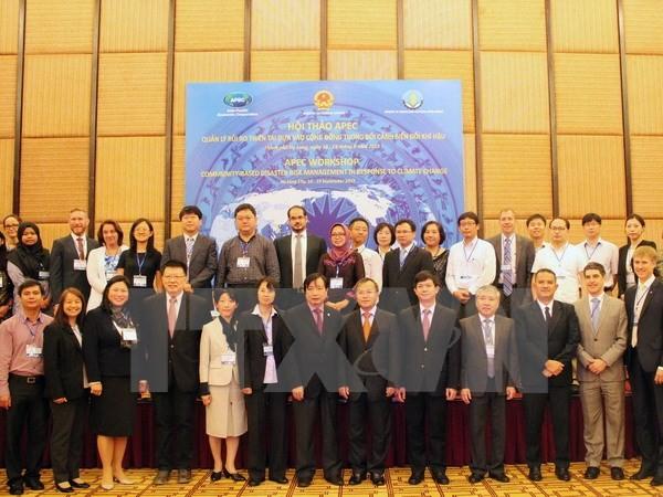 APEC workshop on community-based disaster risk management - ảnh 1
