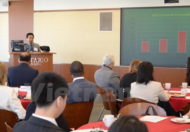 Vietnam Business Forum opens in Canada - ảnh 1