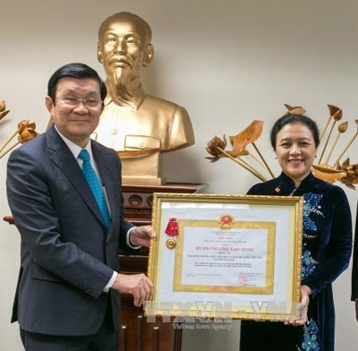 VN's permanent mission to UN awarded Labour Order, second class - ảnh 1