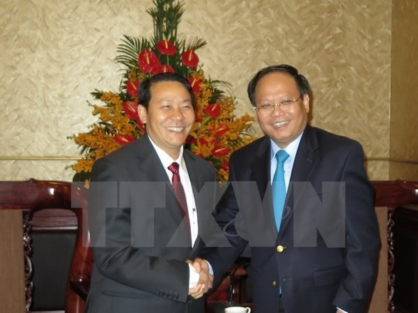 HCM City fosters trade ties with Lao province - ảnh 1