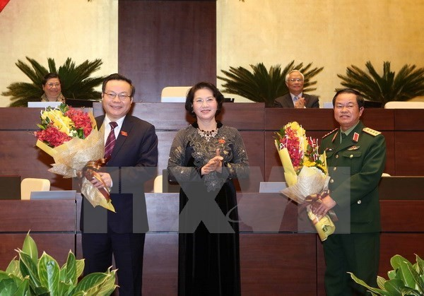 National Assembly elects two Vice Chairs - ảnh 1