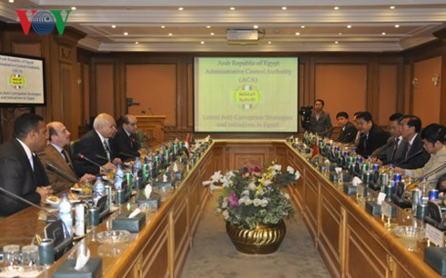Vietnam, Egypt step up inspection cooperation - ảnh 1