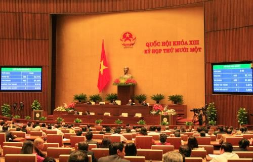 Accomplishments of the 13th National Assembly - ảnh 1