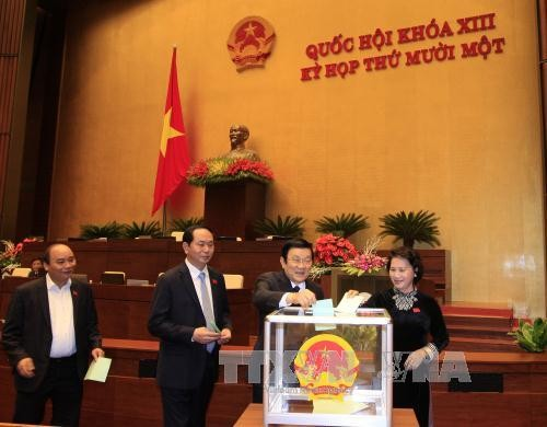 National Assembly believes Prime Minister will steer Vietnam to integration and growth  - ảnh 1