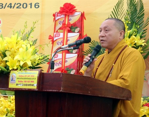 VBS held a requiem for martyrs at the Phat Tich Truc Lam Ban Gioc Pagoda - ảnh 1