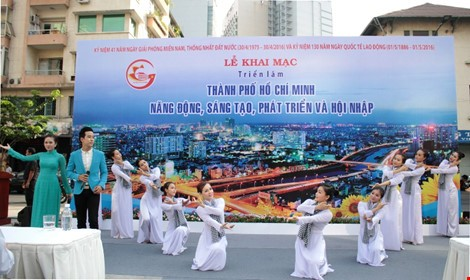 Photo exhibition of Ho Chi Minh City's dynamism, creativity, development - ảnh 1