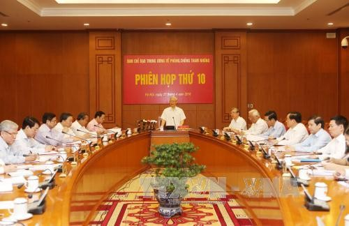 Meeting of the Central Steering Committee on Corruption Prevention and Control  - ảnh 1