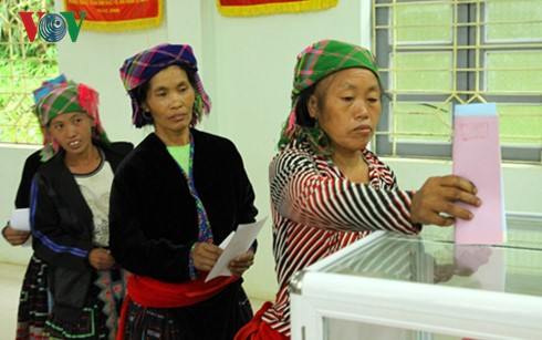 Provinces announce National Assembly election results - ảnh 1