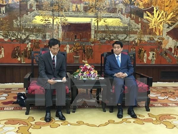 Hanoi calls for Japanese advanced technology in waste treatment - ảnh 1