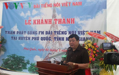 Voice of Vietnam launches FM transmission station in Phu Quoc - ảnh 1