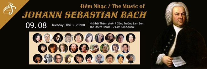 Music of JS Bach to enthrall HCM City audience - ảnh 1