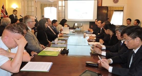 Vinh Phuc province calls for UK's investment - ảnh 1