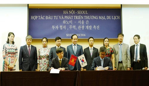 Hanoi, Seoul promote cooperation in various fields - ảnh 1