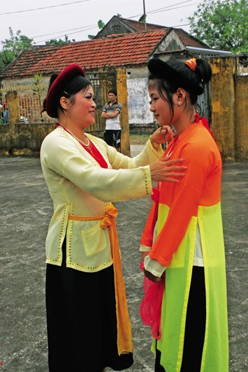 Khuoc village in Thai Binh province popularizes traditional Cheo theater - ảnh 2