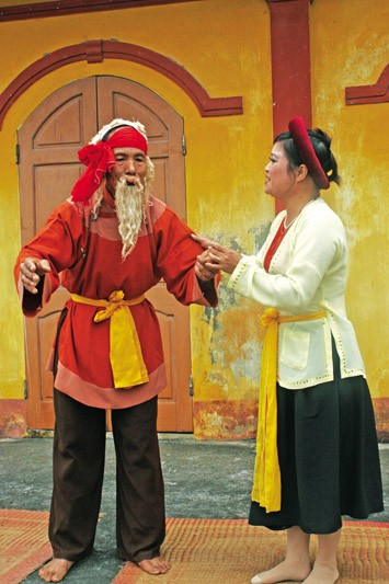 Khuoc village in Thai Binh province popularizes traditional Cheo theater - ảnh 3