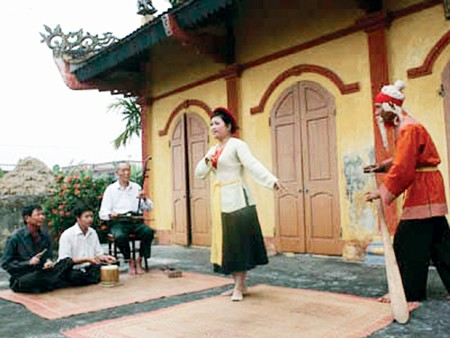 Khuoc village in Thai Binh province popularizes traditional Cheo theater - ảnh 1