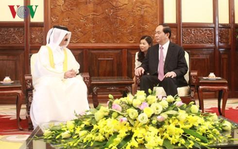 President Tran Dai Quang receives new Ambassadors - ảnh 3
