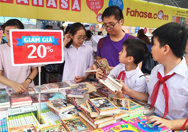 Ha Noi Book Festival 2016 opens space for families - ảnh 1