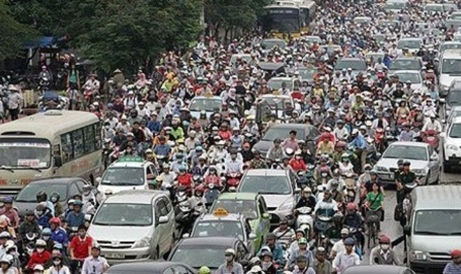 Digital map aims to ease traffic jams in Ho Chi Minh City - ảnh 1