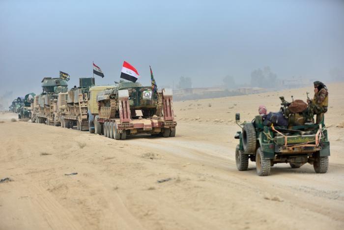 Iraqi task force enters Mosul - ảnh 1