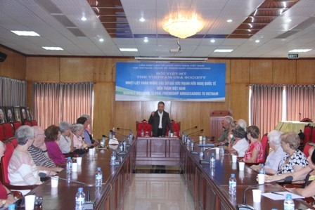 Friendship Force International delegation visits Vietnam - ảnh 1