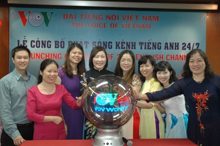 1st anniversary of VOV English 24/7 - ảnh 1