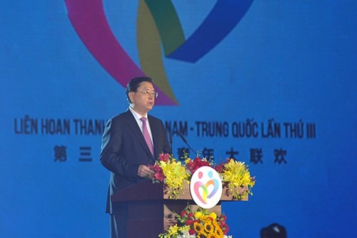 Vietnamese, Chinese top legislators attend youth festival - ảnh 2