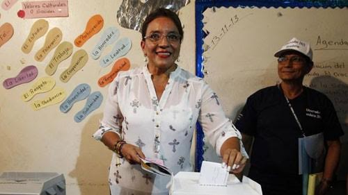 Honduras President seeks re-election  - ảnh 1