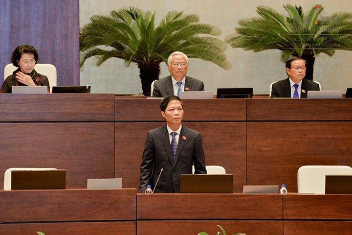 National Assembly begins Q&A session - ảnh 1