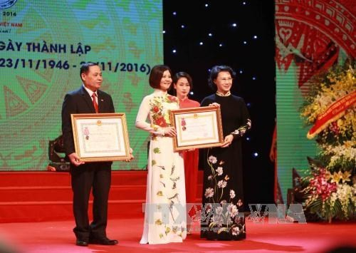 National Assembly Chairwoman at the 70th anniversary of Vietnam Red Cross Society - ảnh 1