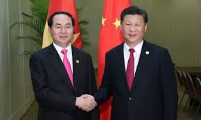 President Tran Dai Quang meets APEC leaders - ảnh 1