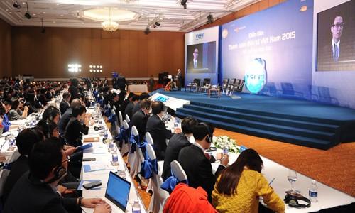Deputy Prime Minister Vu Duc Dam attends Vietnam e-payment conference  - ảnh 1