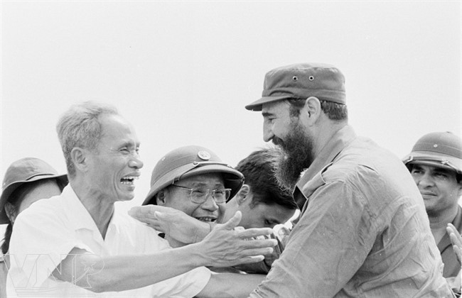 Cuba's revolutionary legend Fidel Castro in Vietnam during American war - ảnh 3