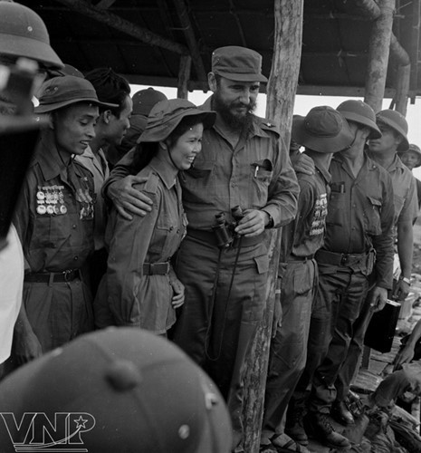 Cuba's revolutionary legend Fidel Castro in Vietnam during American war - ảnh 5