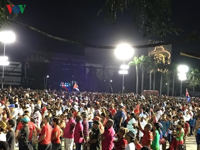 The memorial service of Cuban leader Fidel Castro - ảnh 6