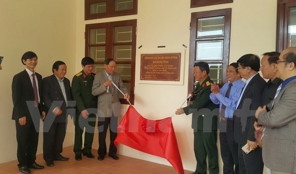 First cultural house for AO victims opens - ảnh 1