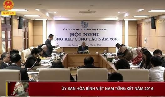 Vietnam Peace Committee sets out tasks for 2017 - ảnh 1