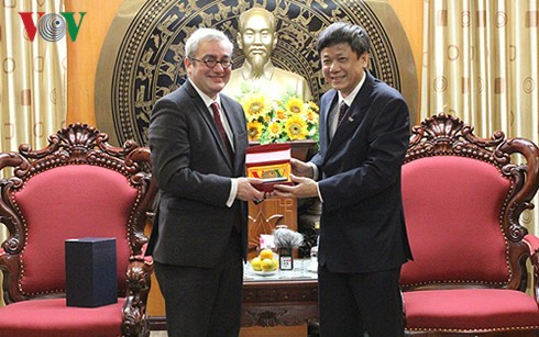 AFP seeks comprehensive cooperation with Voice of Vietnam - ảnh 2