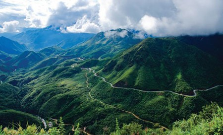 Legendary O Quy Ho pass in Vietnam's northwest - ảnh 1
