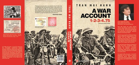 "Veteran journalist Tran Mai Hanh and his novel ""A War Account 1-2-3-4.75""  - ảnh 1"