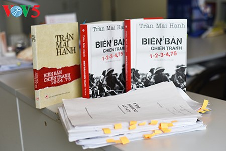 "Veteran journalist Tran Mai Hanh and his novel ""A War Account 1-2-3-4.75""  - ảnh 7"