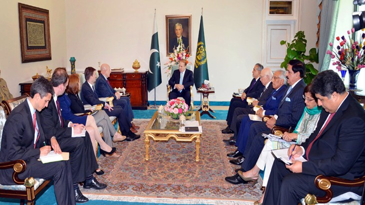 The US pledges to strengthen relations with Pakistan - ảnh 1