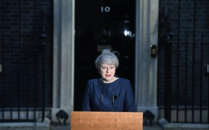 May's decision : UK early election - ảnh 1