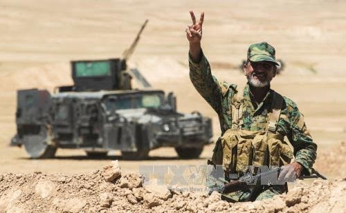 Iraqi forces liberate Hatra from ISIS - ảnh 1