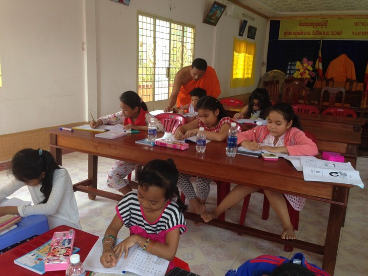 Khmer language classes in Can Tho city - ảnh 3