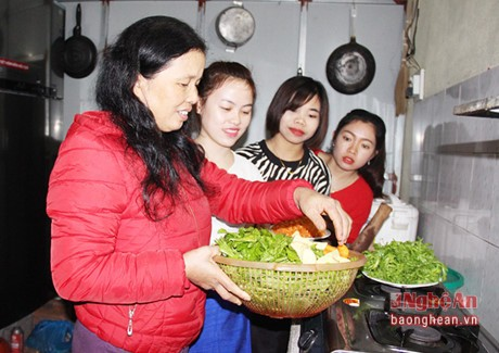 Host families of Lao students - ảnh 2