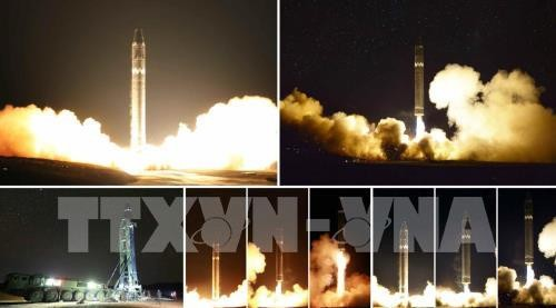 North Korea's missile launch: South Korea, US back diplomatic solutions - ảnh 1