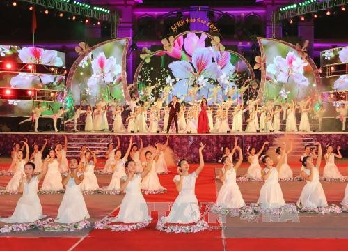 Dien Bien Bauhinia Flower Festival highlights ethnic culture - ảnh 1